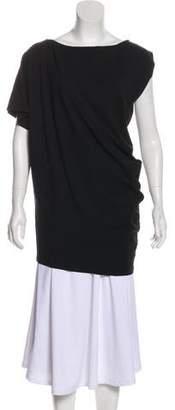 Diane von Furstenberg Asymmetrical Short Sleeve Tunic