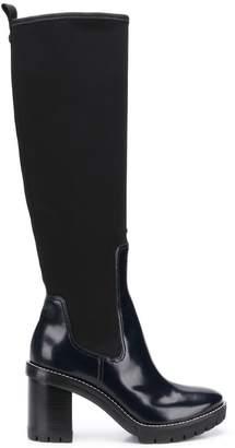 Tory Burch Preston lug sole boots