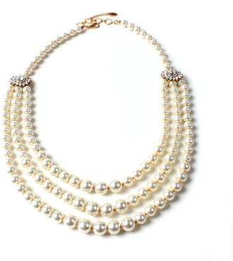 Amrita Singh Crystal Multi-Strand Necklace