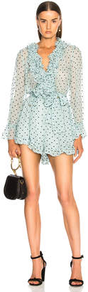 Zimmermann for FWRD Breeze Ruffle Playsuit
