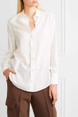 Joseph Klein Washed-silk Shirt - Cream