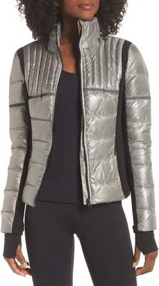 Blanc Noir Reflective Feather Weight Down Jacket