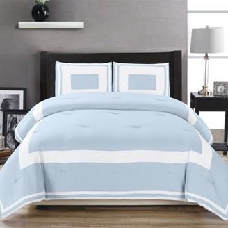 Superior Grammercy Contemporary Hypoallergenic Down Alternative Comforter Set