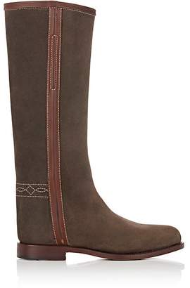 Cartujano Espana Women's Waxed Suede Knee Boots
