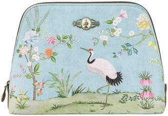 Pip Studio Good Morning Triangle Cosmetic Bag - Blue - Large
