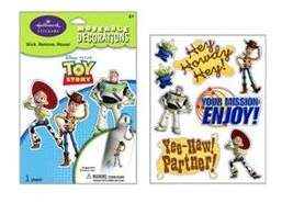 story. RoomMates TOY Wall Decals Woody Buzz Jessie Room Decor Stickers Decorations NeW BE