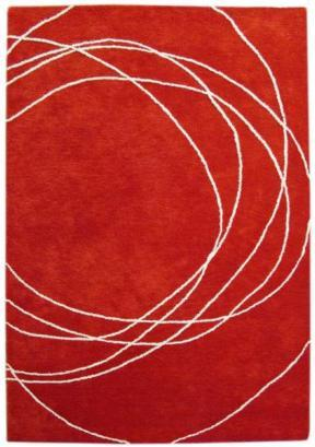 Bholu Nimboo Red/Cream Rug