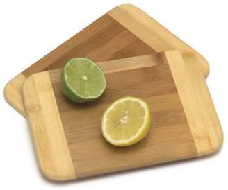 Lipper Bamboo Two-Tone Small Cutting Board