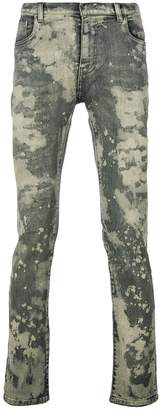 Faith Connexion splattered skinny jeans