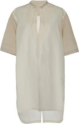 Tome Short Sleeve Safari Cotton Tunic