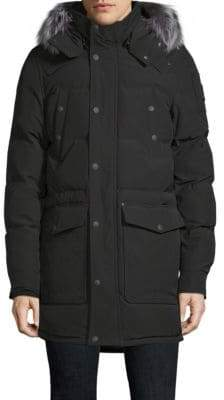 Moose Knuckles West Gore Down& Feather Fill Hooded Parka