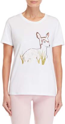Giamba Embroidered Deer Tee