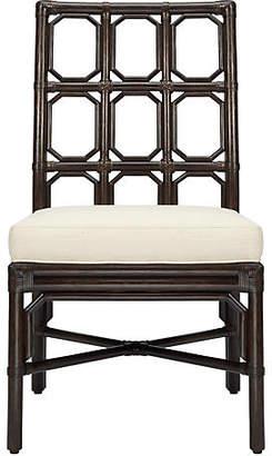 Selamat Evelyn Rattan Side Chair - Clove
