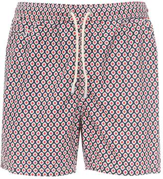 MC2 Saint Barth Print Ultra Light Micro Tech Swim Shorts