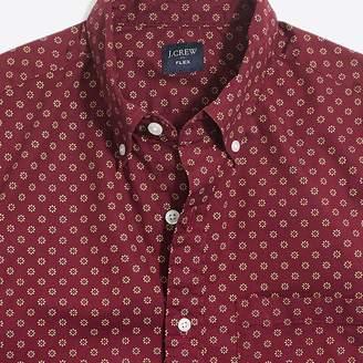 J.Crew Factory Slim-fit short-sleeve flex floral printed shirt
