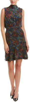 Saloni Fleur Short Dress