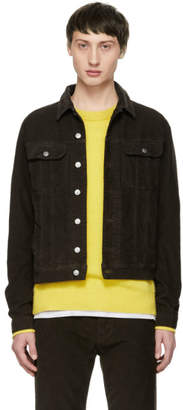 Acne Studios Brown Bla Konst Corduroy Tent Jacket