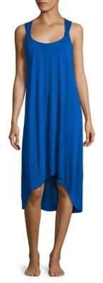 Heidi Klein Como Twisted Back Hi-Lo Dress