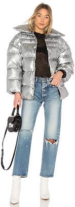 Off-White Medium Puff Jacket