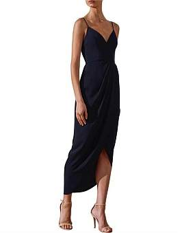 Shona Joy Core Cocktail Midi Dress