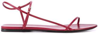 The Row thin strappy sandals