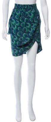 Derek Lam Printed Knee-Length Skirt