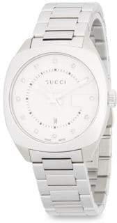 Gucci Stainless Steel & Diamond Bracelet Watch