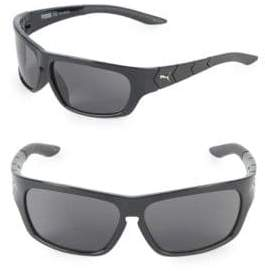 Puma 59MM Wrap Sunglasses