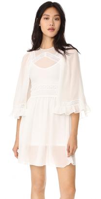 McQ - Alexander McQueen Volume Sleeve Dress $595 thestylecure.com