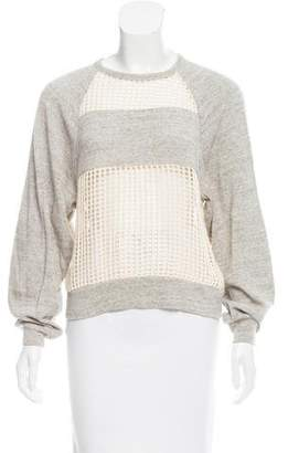 Isabel Marant Crocheted Open Knit Top
