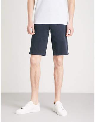 BOSS ORANGE Regular-fit stretch-cotton shorts