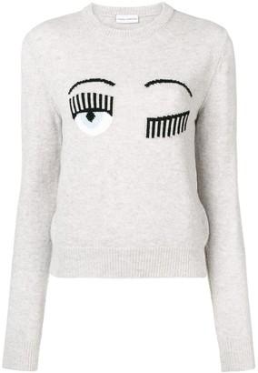 Chiara Ferragni Blinking Eye sweater