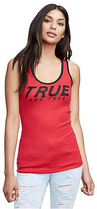 True Religion TRUE AND FREE RIB TANK