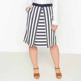 CASTALUNA Straight Striped Skirt