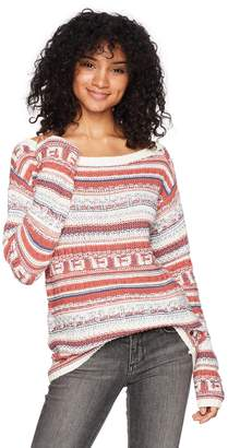 Roxy Women's Cold is Coming Off The Shoulder Sweater