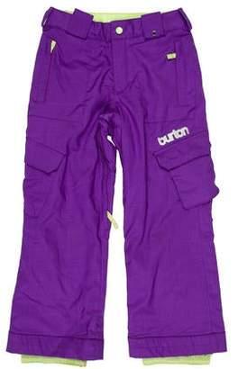 Burton Mid-Rise Cropped Pants