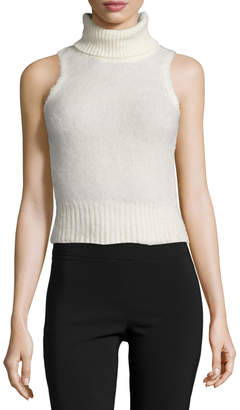 Rachel Zoe Elodie Sleeveless Turtleneck Sweater