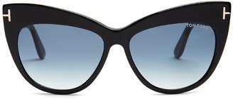 TOM FORD EYEWEAR Nika cat-eye sunglasses $250 thestylecure.com
