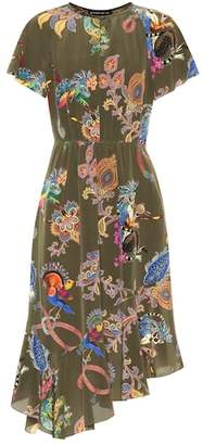 Etro Paisley-printed silk dress