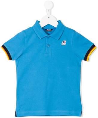 K Way Kids logo polo shirt