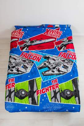 Star Wars Episode VII Craft UK Double/US Duvet Cover and Pillowcase Set