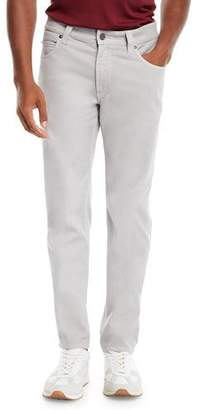 Giorgio Armani 5-Pocket Slim-Leg Twill Pants