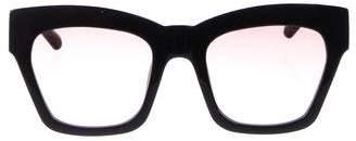 Karen Walker Gradient Cat-Eye Sunglasses w/ Tags