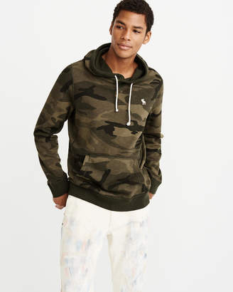 Abercrombie & Fitch Fleece Icon Hoodie