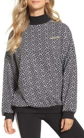 AOP Print Sweatshirt