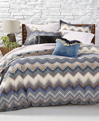 BCBGeneration Zig Zag Reversible 3-Pc. Printed Full/Queen Comforter Set