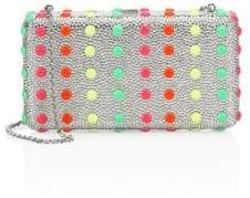 Judith Leiber Couture Crystal Dot Candy Airstream Clutch