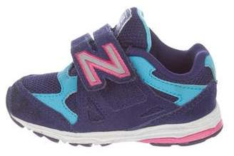 New Balance Girls' Suede Sneakers
