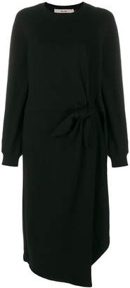 Damir Doma tie waist draped dress
