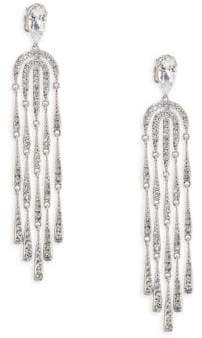 Adriana Orsini Waterfall Crystal Chandelier Earrings
